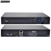 GADINAN Full HD 4CH 1080P NVR Or 8CH 960P NVR For 1080P 960P 720P IP Camera