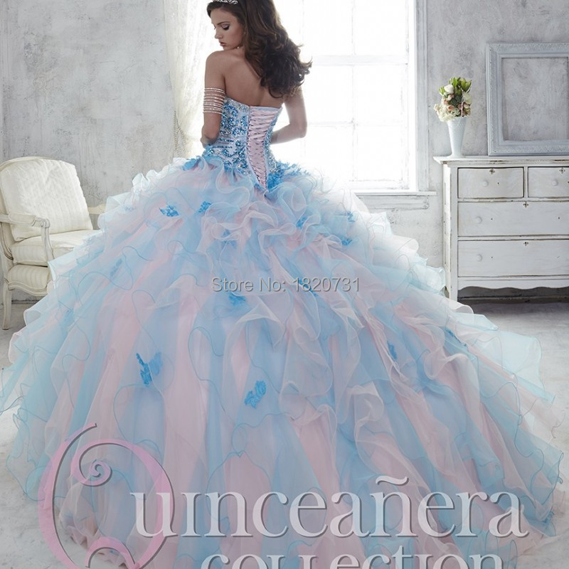 Two-Tone-Ruffles-Ball-Gown-Quinceanera-Dresses-with-Lace-Appliques-Beading-Bodice-Sweet16-Dress-Vestido-de(1)
