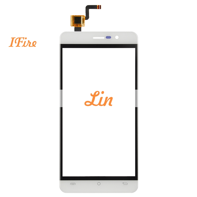 1PCS Ifire For Cubot Z100 P12 Touch Screen Digitizer Panel Glass 5.0 Black White Touch Glass Free Shipping High Quality Tested