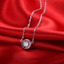Crystal Jewelry 316L Stainless Steel Pendants Necklace