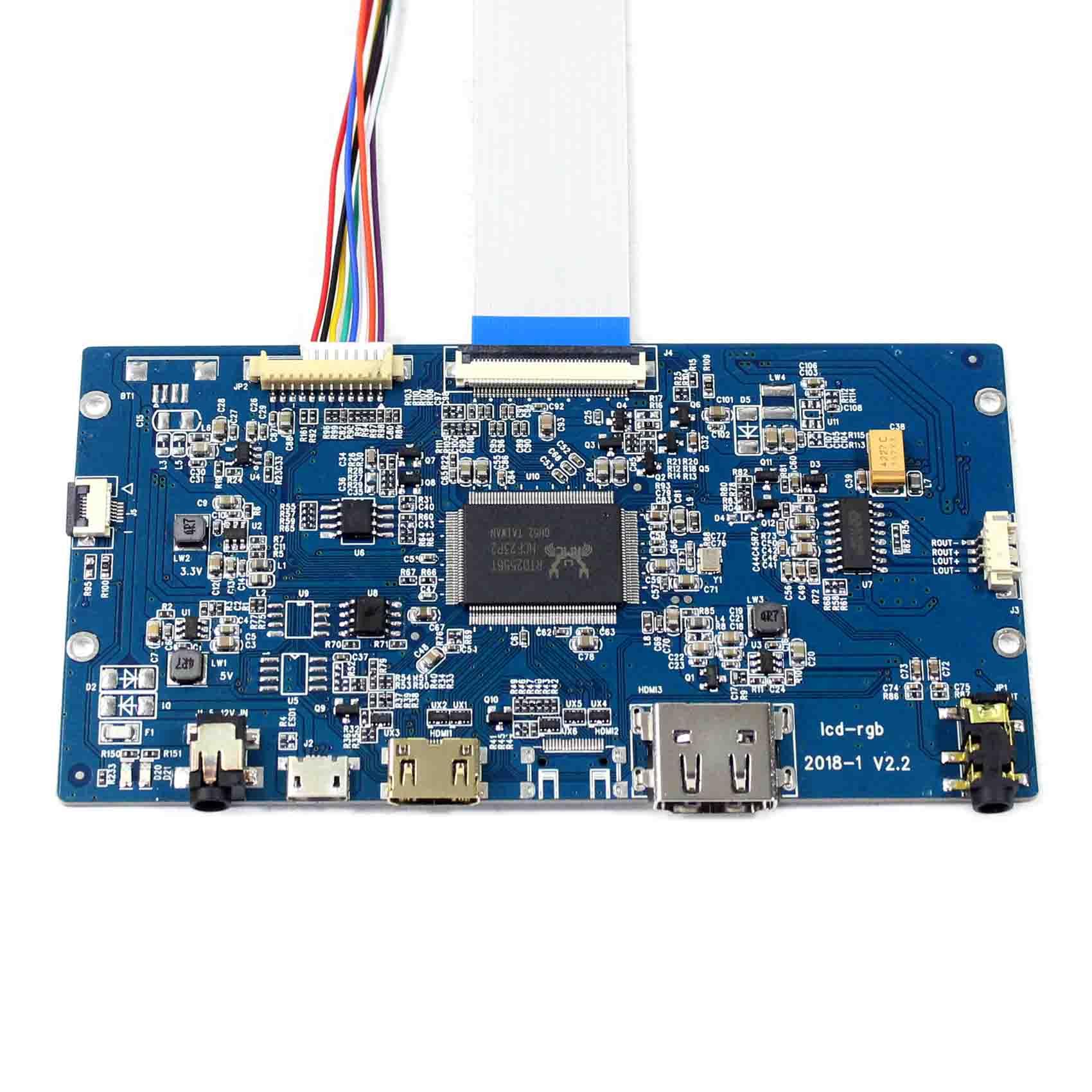 "HDMI LCD Controller Board For 9.7"" LP097QX2 LTL097QL02 1536X2048 IPS LCD Screen"