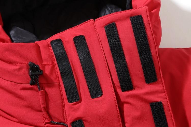Amovible Mode L'eau Hiver Capuche kaki Vers Casual Imperméable rouge Marque Hommes De vent Thermique Noir Veste Lumière Chaud Bas Manteau À Le Coupe gTWOFPaq