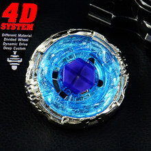 Beyblades 4D Burst Metall Fusion Launcher Top Set Kreis Cygnus BB124