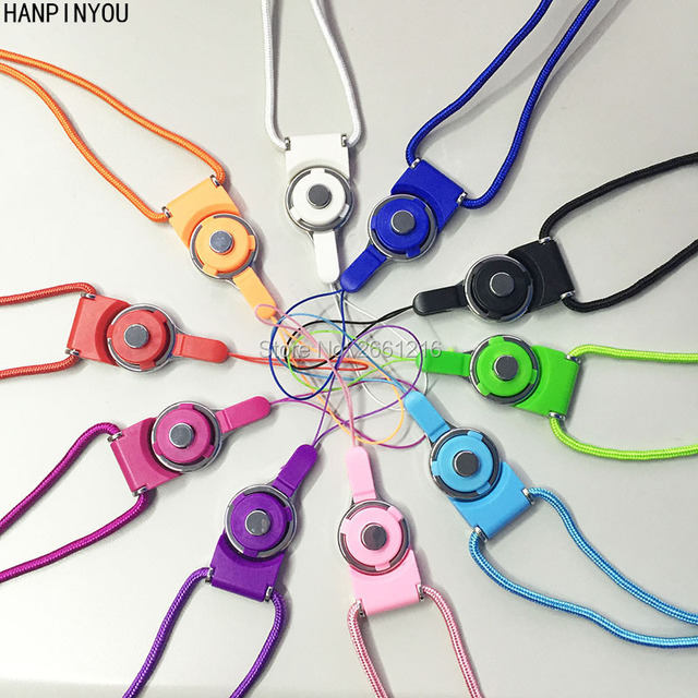 New Neck Straps Hang Rope Sling DIY Decorative Cell Phone Lanyards For Apple iPhone SE 6 6s 7 Plus Samsung S7 Edge S8+ Xiaomi