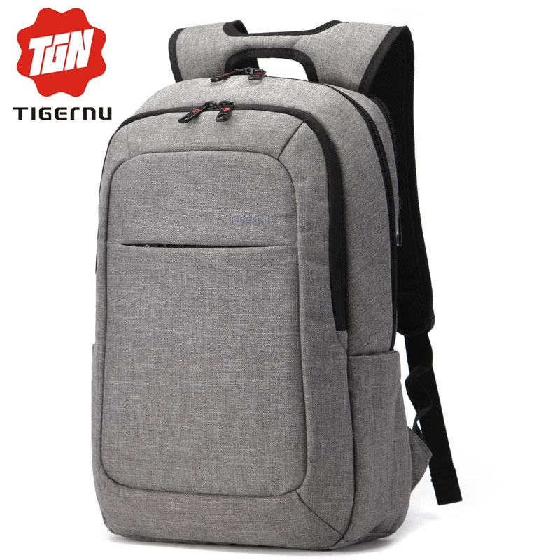 a966e67272 2017 Tigernu Men mochila Laptop Backpack Women Waterproof Canvas Business Laptop  Bags 15.6inch Notebook Bag For Teenagers