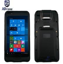 "Original K62H 6 ""Mini PC de la tableta de Windows 10 IOT Hogar IP67 Resistente A Prueba de agua A Prueba de Choques Resistente al aire libre GPS 2D Escáner de código de Barras PDA"