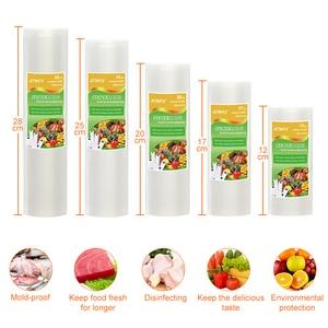 Image 3 - Atwfs Voedsel Vacuüm Sealer Verpakking Machine Met 5 Vacuüm Zak Verpakking Rolls (12X500cm,17X500cm,20X500cm,25X500cm,28X500cm)