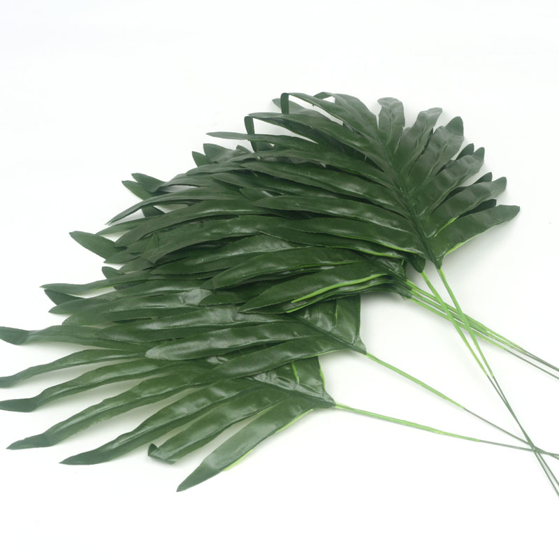 Artificial plants flowers fern leaves for diy party living for Artificial leaves for decoration