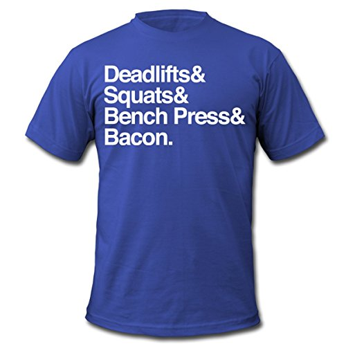Deadlifts & Squats & Bench Mens T-Shirt by American Apparel T Shirt Men Tees Brand Clothing Funny Breathable Loose