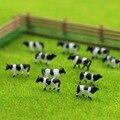 AN15001 60 шт. 1:150 хорошо окрашенная ферма животные коровы N масштабный пейзаж Ландшафтная планировка