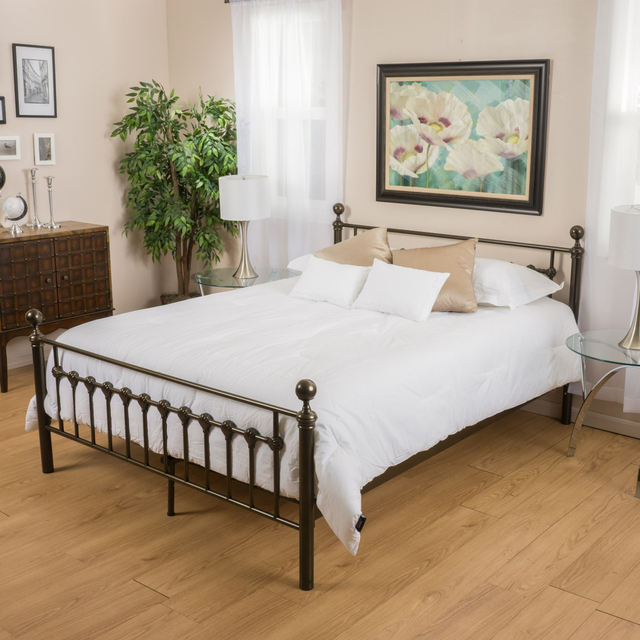 Bradford Cal King Dark Copper Gold Bed Frame on Aliexpress.com ...