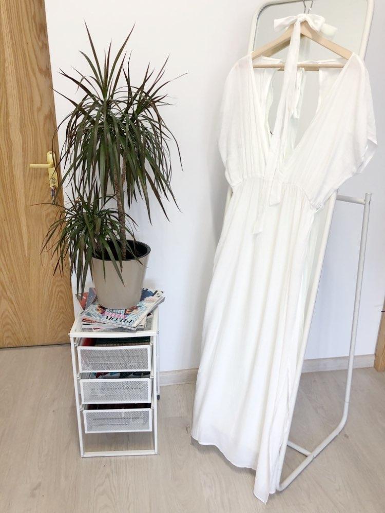 18725d0f16 Big Promo] 2019 New Cover ups Summer Women Beach Wear White Cotton ...