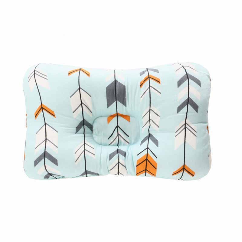 Подушка для младенца, подушка для защиты головы, детское постельное белье, Младенческая подушка для кормления малыша, позиционер для сна против скатывания - Цвет: Серый