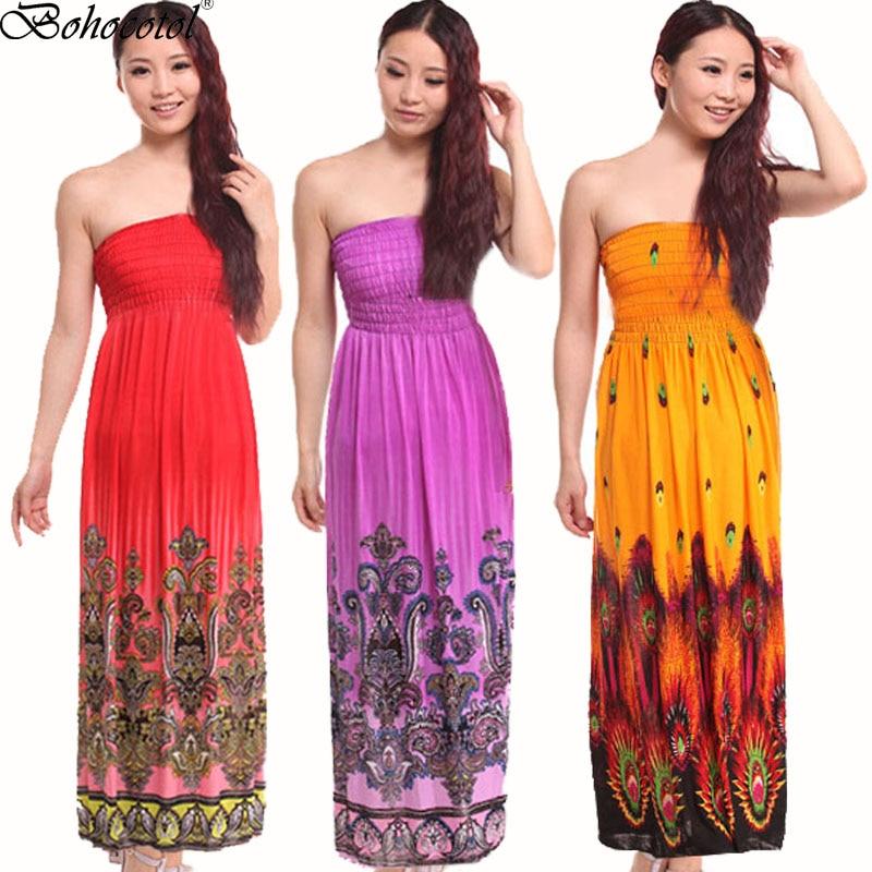 Womens Ladies Strapless Floral Sheering Boobtube Bandeau Gathered Printed Dress