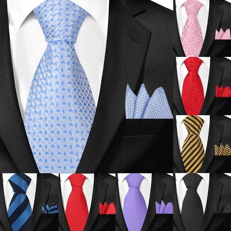 Классические галстуки и карман угольники для Для мужчин Повседневное галстук с узором