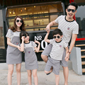 Family Matching Outfits Striped Family Clothing Mom/Mother and Daughter Clothes Father and Son Clothes Family Clothing Sets TL42