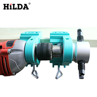 Use For Nibble Metal Cutting Double Head Sheet Nibbler Saw Cutter Tool Drill Attachment Free Cutting