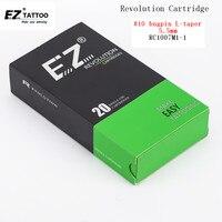 EZ Tattoo Needles Revolution Cartridge Magnum 10 0 30mm L Taper 5 5mm For System Tattoo