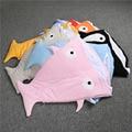 100% Brand New Shark Type Multifunctional Newborn Infant Baby Kids Anti Kick Sleeping Bag