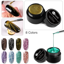 Mtssii Creative Wire Drawing Spider Nail Gel Point To Line Painting Ge