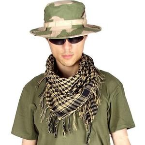 Image 1 - Cachecóis Shemagh militar Multifunction Tactical cabeça de algodão Lenço quadrado Islâmico Árabe Keffiyeh Palestina Envoltório Bandana Sq303