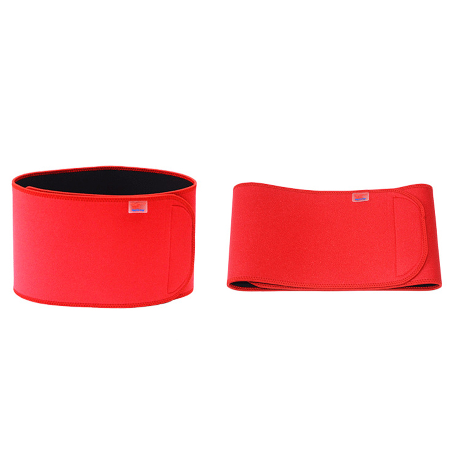 1Pcs Adjustable Tourmaline Self-heating Magnetic Therapy Waist Belt Lumbar Support Back Waist Support Brace Double Banded C609