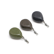 1Pc Lead Sinker Water Drop Shaped Lead Fishing Weight Sinkers Lure Sea Fishing Tackle Accessorie