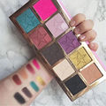 Newest Star Shape Cosmetics Beauty Killer Eyeshadow Palette 10 Colors Eyeshadow Set Easy Wear For Women Pro Makeup Tools