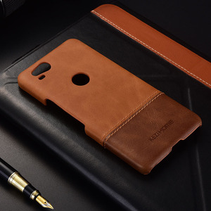 Image 5 - Case for Google Pixel 2 KEZiHOME Luxury Hit Color Genuine Leather Hard Back Cover capa For Google Pixel2 5.0 Phone cases