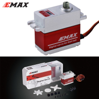 EMAX ES9255 Metal Case Brushless Digital Metal Gear Servo High Voltage Servo For RC Model