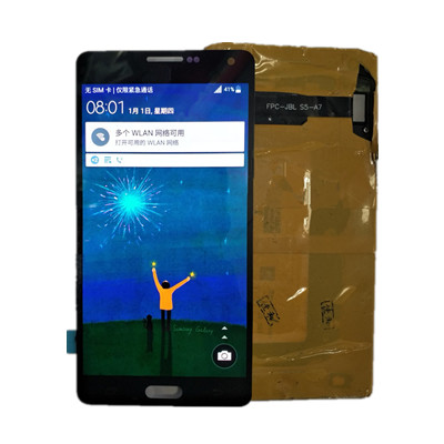 Super AMOLED For Samsung Galaxy A7 2015 A7000 A700 A700H Burn in Shadow LCDs Display Touch