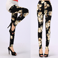 Patterned Leggings Soft Microfiber with Colorful Printed Leggings Women Summer 22 Colors Nine Legging
