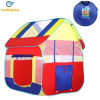 LeadingStar Blue Child Playhouse Tents Indoors Outdoors House For Boys Girls Perfect Gift For Toddlers