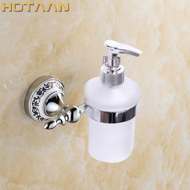 Free Shipping  Soap Dispenser With Holder,wall Mounted Soap Dispenser,Liquid Soap Dispensers,bathroom Set