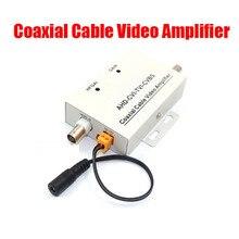HD Coaxial สายวิดีโอสัญญาณ BNC Extender กล้องวงจรปิดความปลอดภัยกล้อง