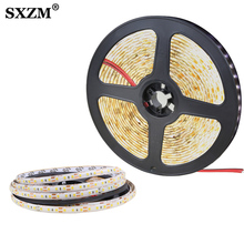 DC12V LED Strip 2835 120led/m 5 Meters Flexible Light White Warm white Waterproof Led Lamp светодиодная лента