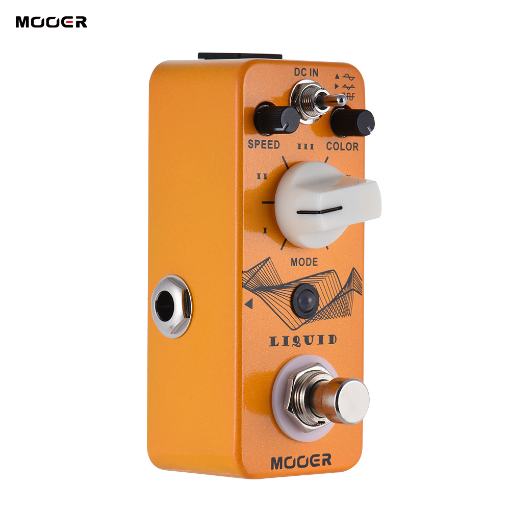 MOOER Mini Digital Phaser Guitar Effect Pedal True Bypass Full Metal Shell Guitar Parts Accessories