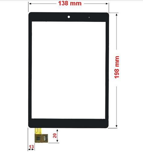 New touch screen For 8 inch Neo2 CT820 8 Tablet Touch panel Digitizer Glass Sensor replacement Free Shipping new white 10 1 inch tablet 10112 0b50550 touch screen panel digitizer glass sensor replacement free shipping