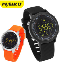 Sensible Watch EX18 Sport Waterproof pedometers Message Reminder Bluetooth Outside swimming males smartwatch for ios Android telephone