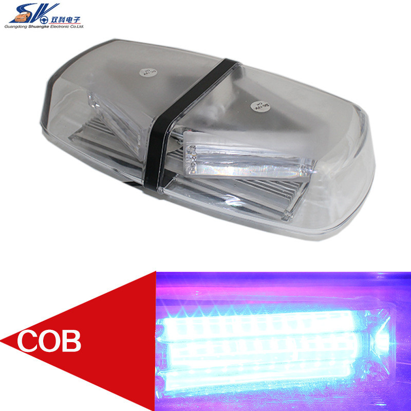 72W COB LED 12V Roof Top Emergency Hazard Warning Mini Bar Strobe Light Magnetic Base For Ford BMW E46 E53 E65 JEEP MERCEDES