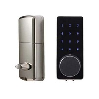 OS8815BLE BT Electronic Keyless Back lighted Keypad Door Lock Unlock With Bluetooth Code Key Digital Security Lock