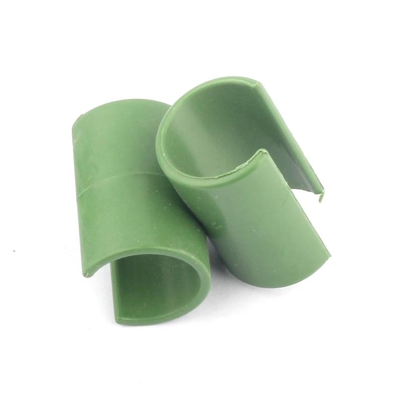 10 stks Cross Plastic Tuinieren Kolom Serre Lade Beugel Vaste Klem - Tuinbenodigdheden - Foto 1