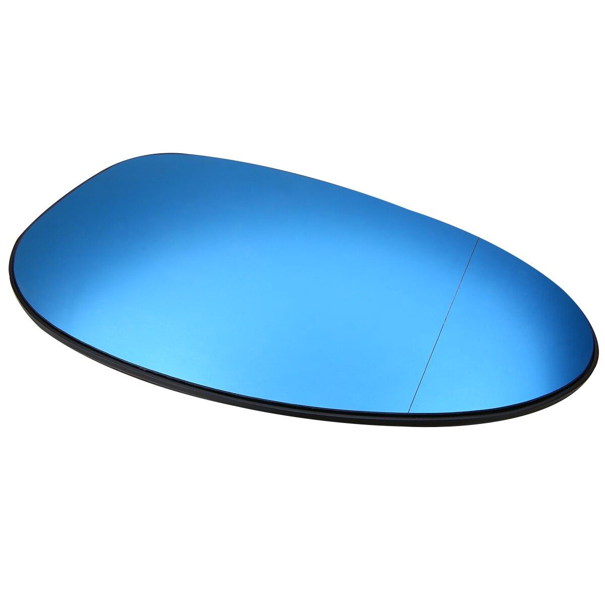 New Arrival 1Pair Door Mirror Glass Heated Blue Glasses 51167145267 Left/ 51167145268 Right For BMW E82 E90 E91 E92 E46