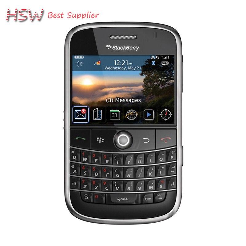 directly Selling 100 Original Unlocked 9000 Original Blackberry Bold 9000 Mobile Phone GPS WIFI 3G