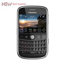 Непосредственно продавать 100% Оригинал разблокирована 9000 Оригинал BlackBerry Bold 9000 мобильный телефон GPS WI-FI 3 г сотовый телефон Восстановленное