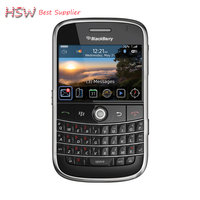 2016 Directly Selling 100 Original Unlocked 9000 Original Blackberry Bold 9000 Mobile Phone GPS WIFI 3G