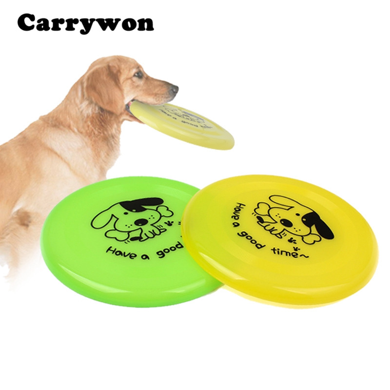 Carrywon Puppy Outdoor Training Fetch Large Dog Toy Pet Play Frisbee Chew Toys Flying Disc Tooth Toys for Dogs and Cats
