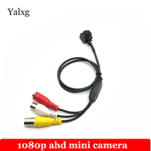 Главная Безопасность HD Mini 2MP SONY IMX323 1080 P 1920*1080 CCTV AHD камера Наименьший наблюдения 3,7 мм объектив hd-видеокамера
