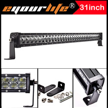 Eyourlife 31/33 inc165w12v led bar 24v offroad work light bar for atv off road polaris rzr wrangler barra 4×4 truck vtt 99