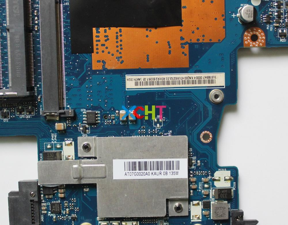 XCHT For HP Compaq Elitebook 8540P 8540W 595765 001 KAQ00 LA 4951P REV:1.0 Laptop Notebook Motherboard Working Perfect